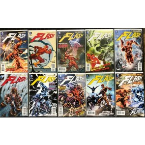 Flash (2011) #26-45 NM (9.4) straight Run The New 52 20 comics