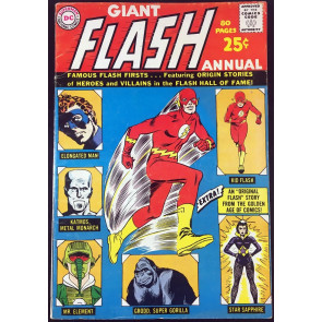 Flash Annual #1 (1963) FN- (5.5)