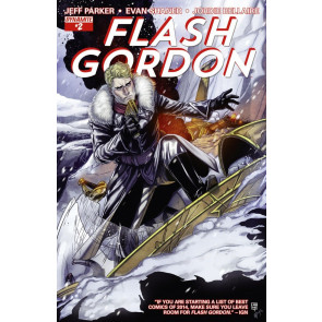 FLASH GORDON (2014) #2 VF/NM COVER A DYNAMITE