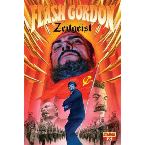 FLASH GORDON: ZEITGEIST #8 VF/NM ALEX ROSS COVER  DYNAMITE