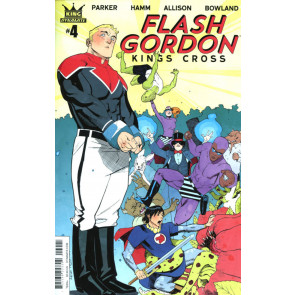 Flash Gordon: Kings Cross (2016) #4 VF/NM Adrian Nelson Variant Dynamite