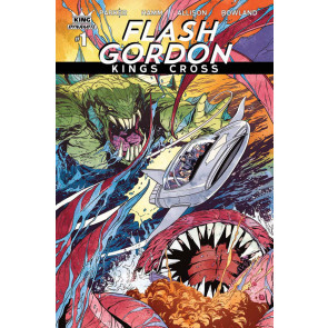 Flash Gordon: Kings Cross (2016) #1 VF/NM Marc Laming Cover Variant Dynamite