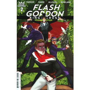 Flash Gordon: Kings Cross (2016) #2 VF/NM Lara Margarida Cover Variant Dynamite