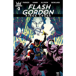 Flash Gordon: Kings Cross (2016) #3 VF/NM Jesse Hamm Variant Dynamite