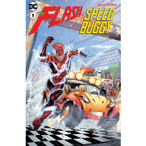 Flash/Speed Buggy Special (2018) #1 VF/NM Brett Booth Cover Hanna-Barbera