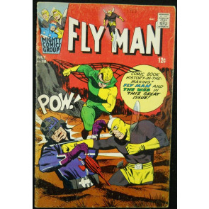 FLY MAN #38 VG ARCHIE COMICS