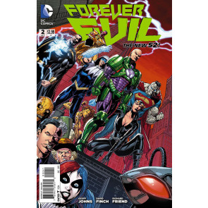 FOREVER EVIL #2 OF 7 VILLAINS FN/VF VARIANT COVER THE NEW 52!