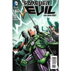 FOREVER EVIL #3 OF 7 VARIANTS A, B, C VF/NM THE NEW 52! ETHAN VAN SCIVER