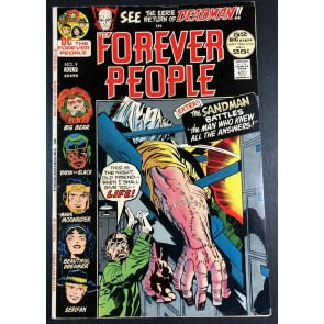 Forever People (1971) #9 FN (6.0) Deadman app 52 pages Kirby Story & Art