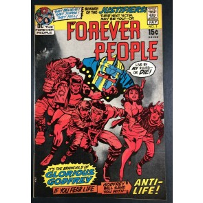 Forever People (1971) #3 VF+ (8.5) Darkseid app Jack Kirby Story & Art