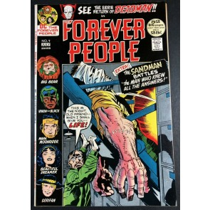 Forever People (1971) #9 VF (8.0) Deadman app 52 pages Kirby Story & Art