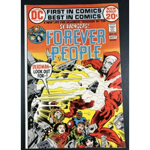 Forever People (1971) #10 FN+ (6.5) Deadman Cover Jack Kirby