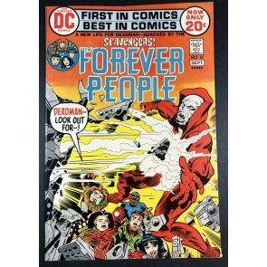 Forever People (1971) #10 VF+ (8.5) Deadman Cover Jack Kirby Story & Art