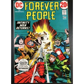 Forever People (1971) #11 VF- (7.5) 1st appearance The Pursuer