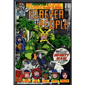Forever People #2 VG/FN (5.0) 1st app Mantis / early Darkseid