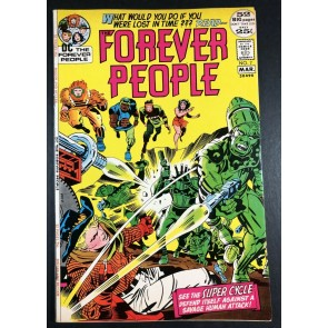 Forever People (1971) #7 VF (8.0) 52 page giant Jack Kirby Story & Art