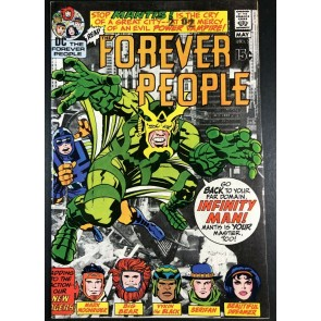 Forever People (1971) #2 VF- (7.5) 1st app Mantis & Desaad Kirby Story & Art