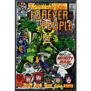 Forever People #2 VG/FN (5.0) 1st appearance Mantis early Darkseid