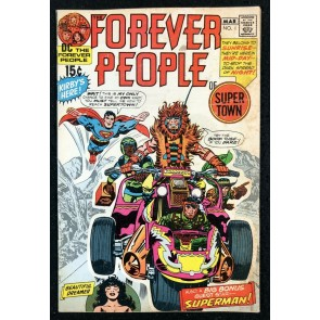 Forever People (1971) #1 VG/FN (5.0) 1st full app Darkseid &1st  Forever People