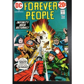Forever People (1971) #11 VF (8.0) 1st appearance The Pursuer