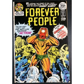 Forever People (1971) #5 VF+ (8.5) 1st app Lonar Darkseid app Kirby Story & Art