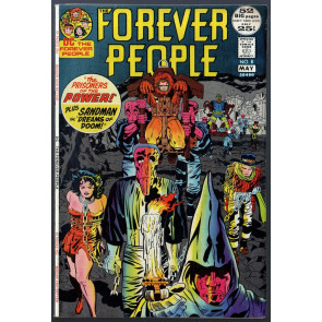 Forever People #8 FN (6.0) Bondage Cover