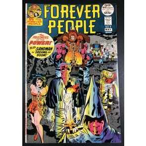 Forever People (1971) #8 VF+ (8.5) Darkseid app 52 pages Jack Kirby Story & Art