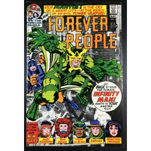 Forever People (1971) #2 VF (8.0) 1st app Mantis & Desaad Kirby Story & Art