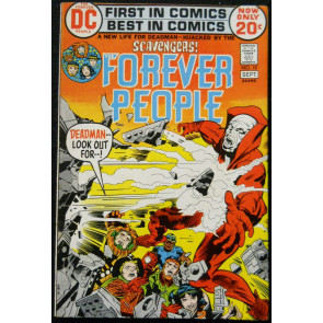 FOREVER PEOPLE #10 VF- JACK KIRBY