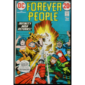 FOREVER PEOPLE #11 FN+ JACK KIRBY