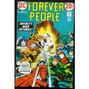 FOREVER PEOPLE #11 VF JACK KIRBY