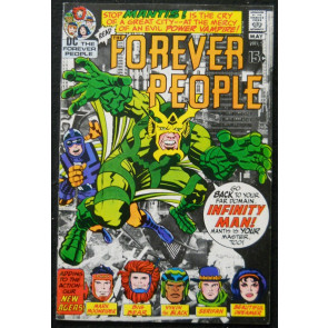 FOREVER PEOPLE #2 VF- JACK KIRBY