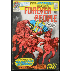 FOREVER PEOPLE #3 FN- JACK KIRBY