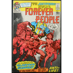 FOREVER PEOPLE #3 VF- JACK KIRBY