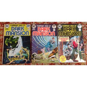 FORBIDDEN TALES OF DARK MANSION #'s 5 6 7 8 9 10 11 12 13 14 15 COMPLETE DC SET