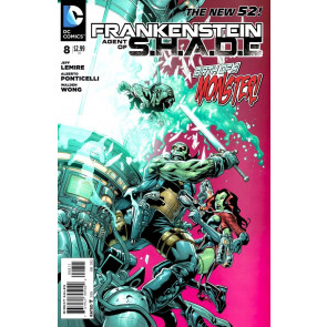 FRANKENSTEIN AGENT OF S.H.A.D.E (2011) #8 VF/NM THE NEW 52!