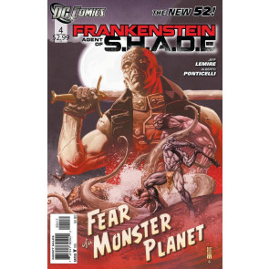 FRANKENSTEIN AGENT OF S.H.A.D.E #4 VF/NM THE NEW 52!