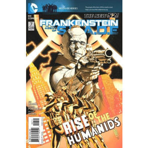FRANKENSTEIN AGENT OF S.H.A.D.E #7 VF/NM THE NEW 52!