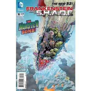 Frankenstein, Agent of S.H.A.D.E. (2011) #16 VF/NM The New 52!