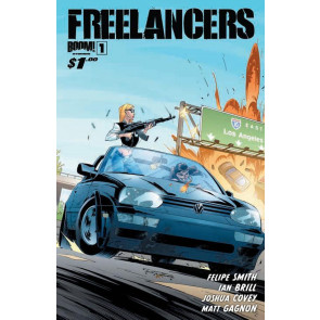 FREELANCERS #1 NM COVER C