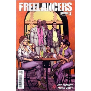 FREELANCERS #2 VF/NM COVER B BOOM!