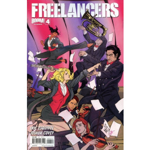 FREELANCERS #4 VF/NM COVER B BOOM!