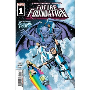 Future Foundation (2019) #1 VF/NM Carlos Pacheco Cover