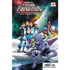 Future Foundation (2019) #'s 1 2 3 4 5 Complete VF/NM Set Carlos Pacheco Cover