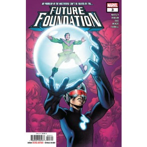Future Foundation (2019) #3 VF/NM Pacheco Cover