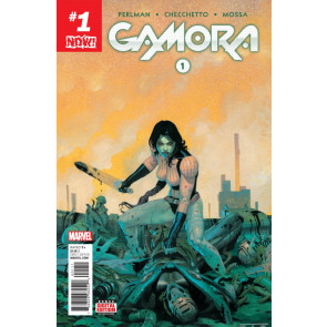 Gamora (2016) #1 VF/NM Esad Ribic Cover Guardians of the Galaxy