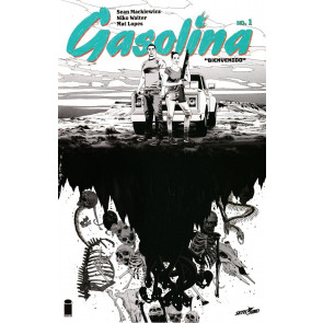 Gasolina (2017) #1 VF/NM Ashcan + 1st Printing + 2nd Printing Image Comics