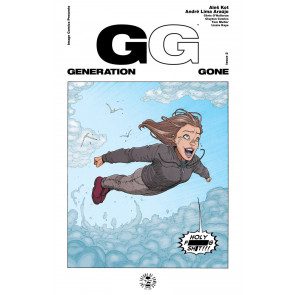 Generation Gone (2017) #2 VF/NM Image Comics