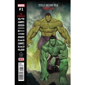 Generations: Banner Hulk & Totally Awesome Hulk (2017) #1 VF/NM Jorge Molina