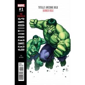 Generations: Banner Hulk & Totally Awesome Hulk (2017) #1 VF/NM Dale Keown